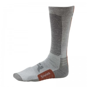 Simms Guide Bugstopper Lightweight Sock Boulder