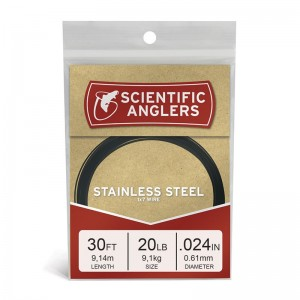Scientific Anglers Stainless Steel Wire 1x7