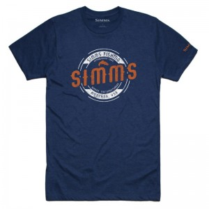 Simms MT T-Shirt Navy Heather