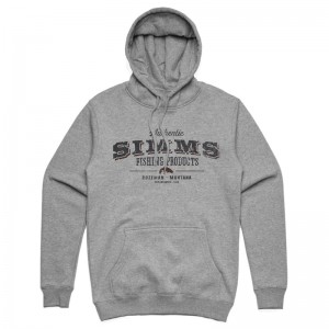 Simms Working Class Hoody Grey Heather
