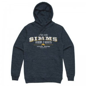 Simms Working Class Hoody Navy Heather