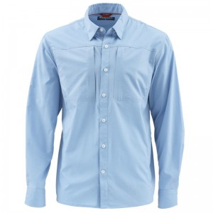 Simms Albie Shirt Faded Denim