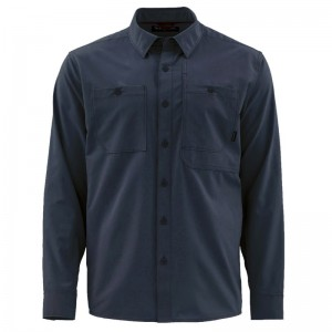 Simms Double Haul Shirt Dark Moon