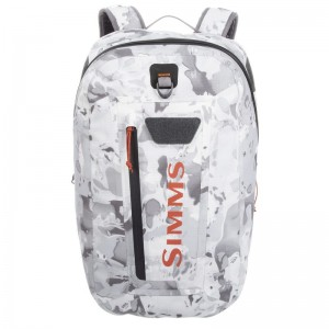 Simms Dry Creek Z Backpack 35L Cloud Camo Grey