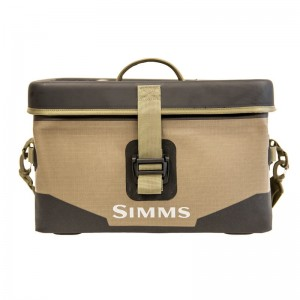 Simms Dry Creek Boat Bag Large 40L Tan