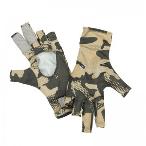 Simms Bugstopper SunGlove Hex Flo Camo Timber
