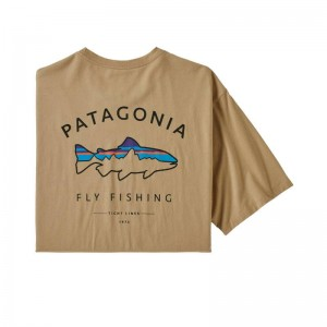 Patagonia M's Framed Fitz Roy Trout Organic CSC