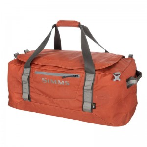 Simms GTS Gear Duffel - 80L Simms Orange
