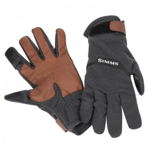 Simms LW Wool Tech Glove Carbon