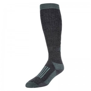 Simms Womens Merino Thermal OTC Sock Seafoam