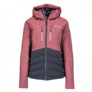Simms Womens West Fork Jacket Garnet