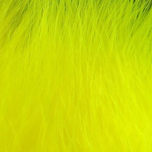 Hareline X-Select Marabou #142 Fluo Yellow