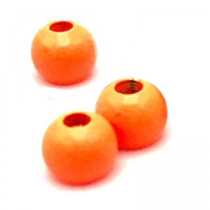 Hareline Tungsten Beads #137 Fluo Orange