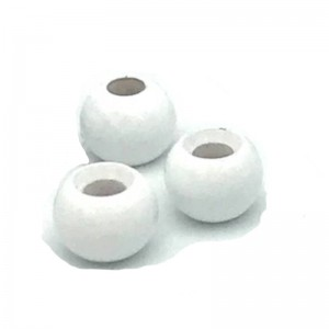 Hareline Tungsten Beads #141 Fluo White