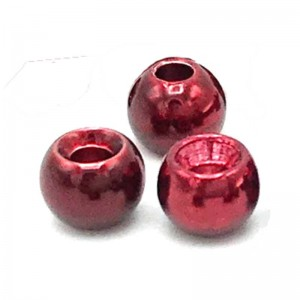 Hareline Tungsten Beads #21 Blood Red