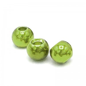 Hareline Tungsten Beads #235 Metallic Olive