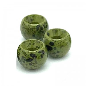 Hareline Tungsten Beads #240 Mottled Olive