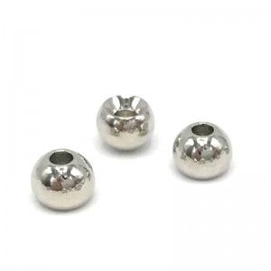 Hareline Tungsten Beads #261 Nickel