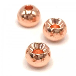 Hareline Tungsten Beads #67 Copper