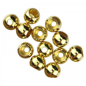 Hareline Brite Beads Gold