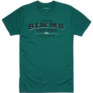 Simms Working Class T-Shirt Red Clay Heather