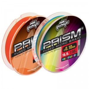 Fox Rage Prism Fused Braid Orange 120m