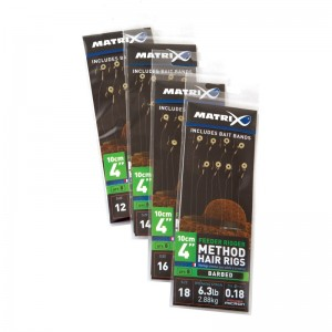 Matrix Feeder Rigger Method Hair Rigs Barbed