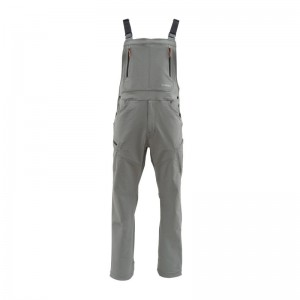 Simms Stratch Woven Overall Steel