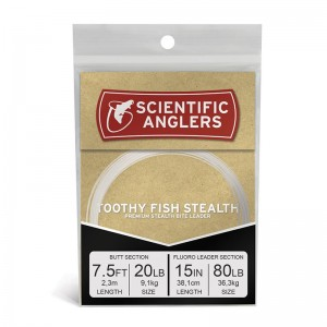 Scientific Anglers Toothy Fish Stealth Leader