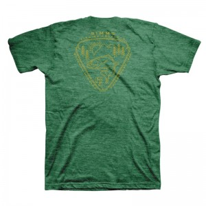 Simms Trout Passion T-Shirt Kelly Heather