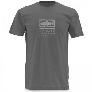 Lamson Waterworks T-Shirt Grey