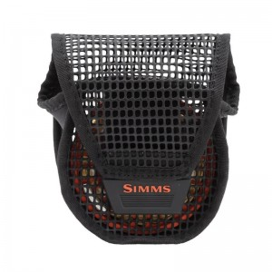 Simms Bounty Hunter Mesh Reel Pouch Black M