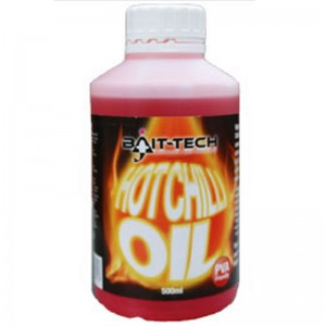 Bait-Tech Hot Chilli Oil 500ml