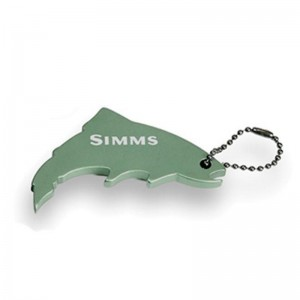 Simms Thirsty Trout Keychain Greenback