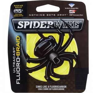 Spiderwire Ultracast Fluoro Yellow 110m
