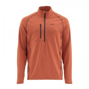 Simms Midlayer Top Simms Orange