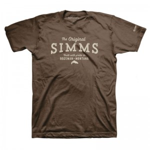 Simms The Original T-Shirt Brown