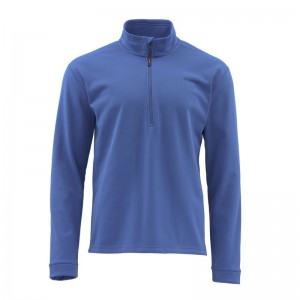 Simms Midweight Core Quarter-Zip Rich Blue