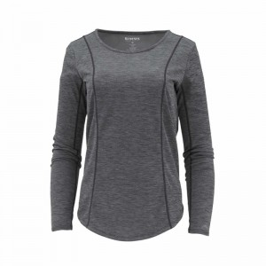 Simms Women's Lightweight Core Top Black