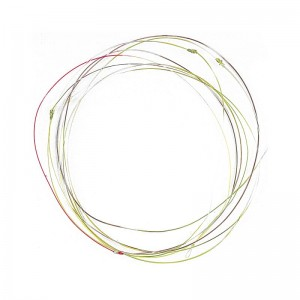 Soldarini Knotted Leader Camou 0.2mm
