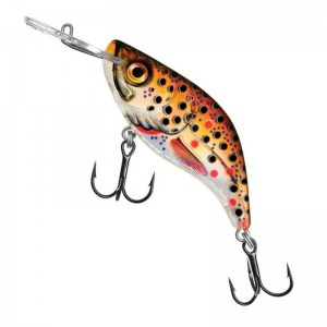 Salmo Sparky Shad S Brown Holographic Trout 4cm
