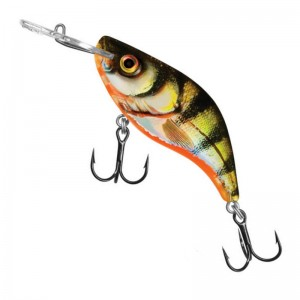 Salmo Sparky Shad S Yellow Holographic Perch 4cm