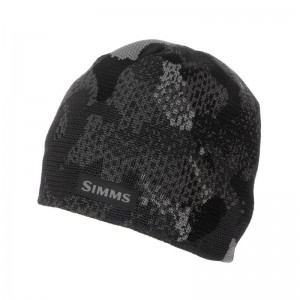 Simms Everyday Beanie Hex Flo Camo Carbon