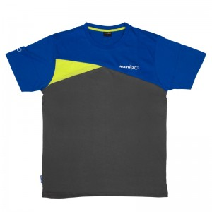 Matrix T-shirt Blue/Grey XL