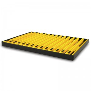Matrix Pole Winder Tray & Winders Yellow 18cm