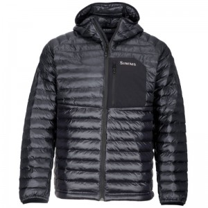 Simms ExStream Hooded Jacket Black