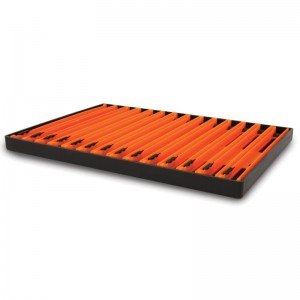 Matrix Pole Winder Tray & Winders Orange 18cm