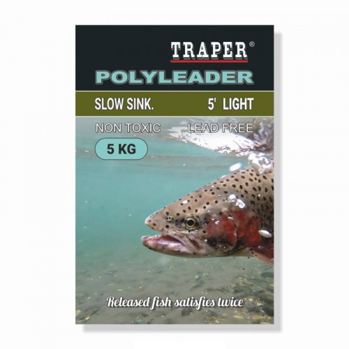 Traper Polyleader 5' Light 5kg-23602
