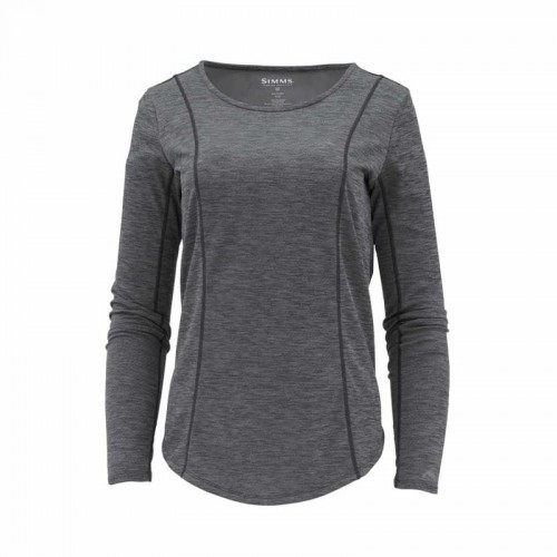 Simms Women's Lightweight Core Top Black-17778